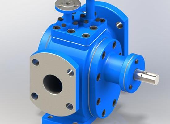 保溫齒輪泵高溫油泵