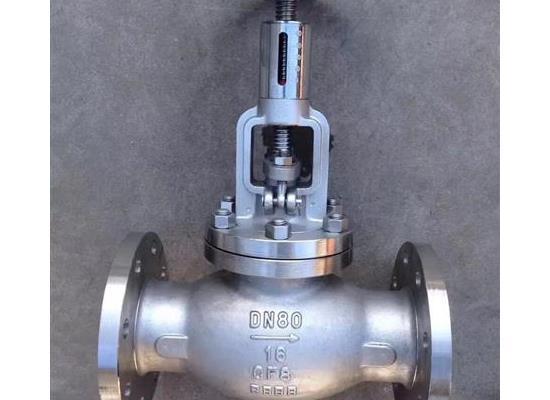 T40W-16P不锈钢调节阀