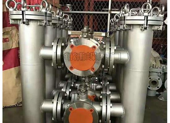 優惠出售雙桶切換過濾器(法蘭自動式)
