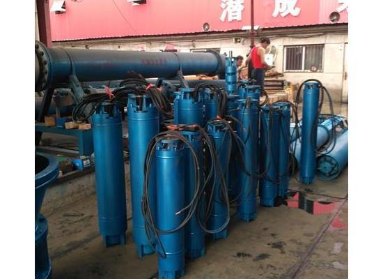 天津热水温泉潜水深井泵,潜成45KW温泉井用热水泵
