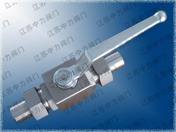 不銹鋼高壓焊接球閥