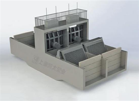 上海凯太创新型一体化泵闸,科技创造完美
