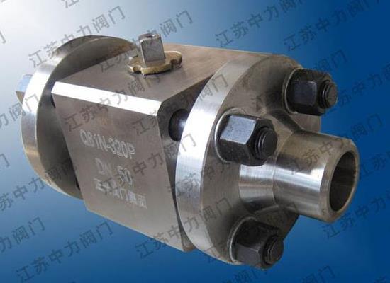 高温高压不锈钢q61n球阀