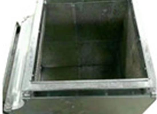 镀锌微穿孔风机消声器管道通风用低噪音消声箱阻抗复合式消声器