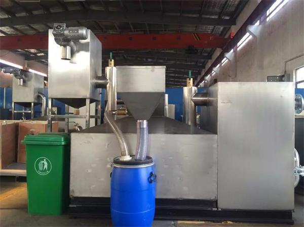 隔油提升一体化设备的安装与维护