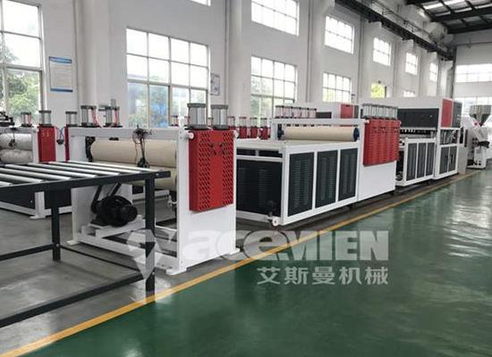 浙江PP中空模板設備、PP中空模板機器、PP中空模板生產線