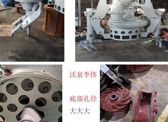 大口径液压排沙泵 挖机砂浆泵 耐磨泥沙泵