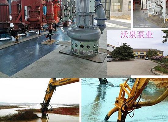 大流量排沙泵 挖掘机 液压排沙泵