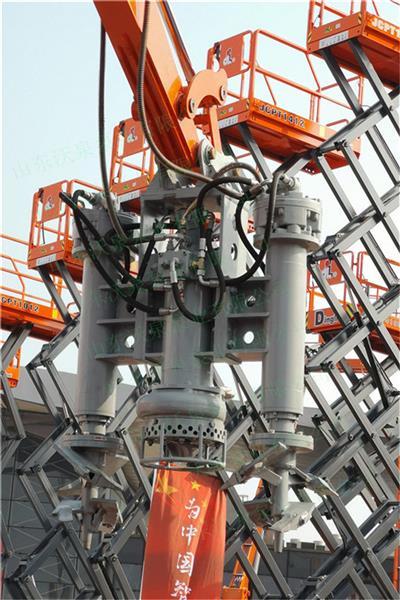 安裝挖掘機上的泵 液壓泥沙泵