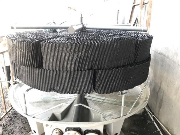 耐腐蝕125T圓形逆流冷卻塔,制冷效果好冷卻水塔