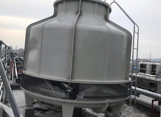 益陽沅江150T普通型逆流圓形冷卻塔,湖南冷卻水塔
