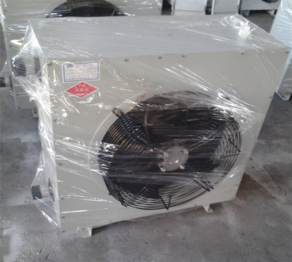 55kw工业厂房用D80电加热暖风机,占地面积往里面�w小
