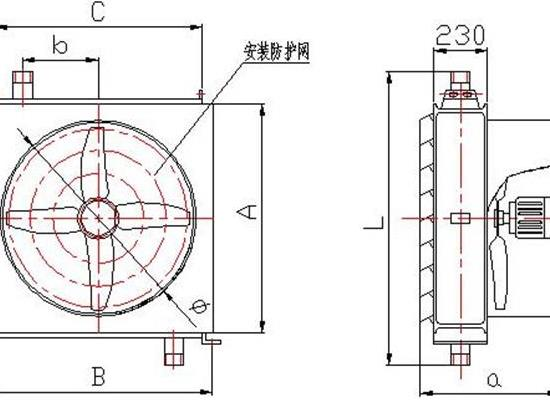 5Q矿用工业蒸汽型暖风机,采暖效果好