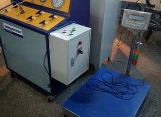 消防行业认证 七氟丙烷药剂充装机  钢瓶清洗干燥一体机