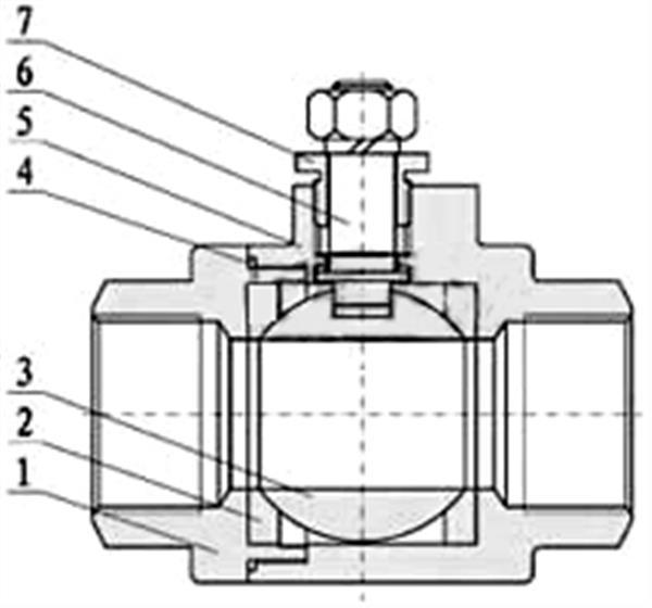 電動內螺紋球閥_二片式(閥體)
