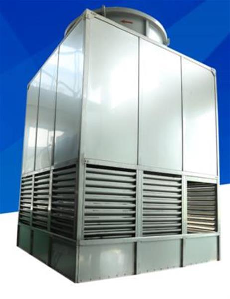 方形横流封闭式低噪音冷水塔工业设备降温散热塔凉水塔