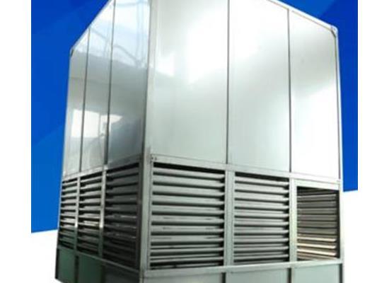 方形橫流封閉式低噪音冷水塔工業設備降溫散熱塔涼水塔