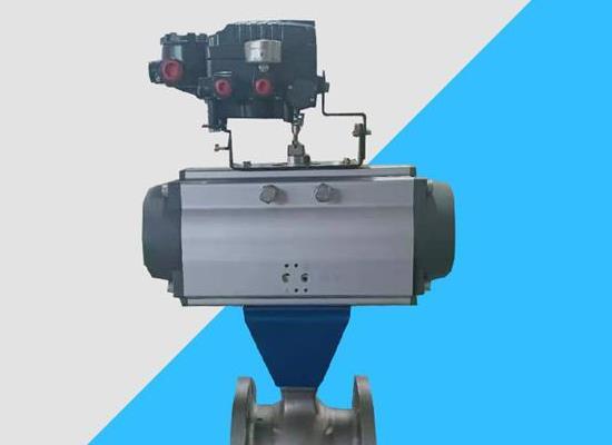VQ647H-16P VQ647Y-16P氣動V型調節球閥