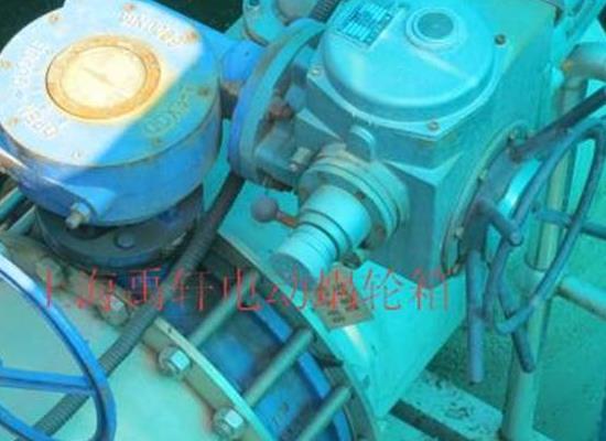 直销QDX3-D8电动蜗轮头,DN800蝶阀蜗轮箱 阀门配件