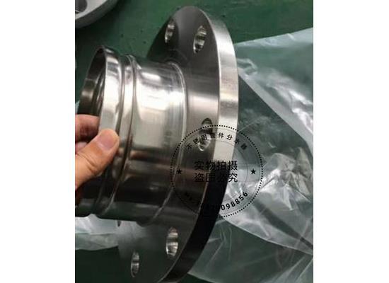 304不锈钢沟槽法兰转换接头滚砂水管燃气卡槽法兰直接拷贝林卡