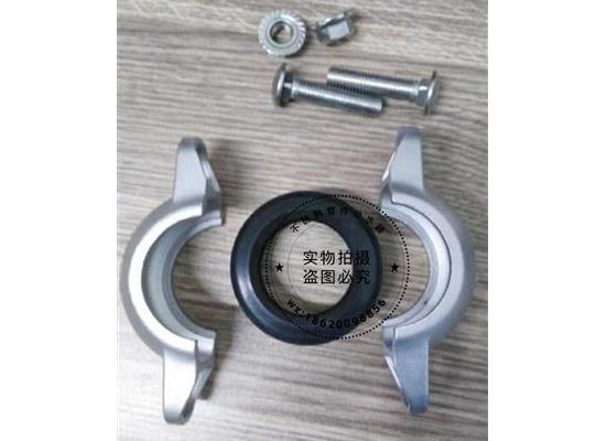 广西304不锈钢沟槽卡箍件|卫生级沟槽卡箍现货批发沟槽卡箍