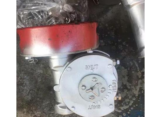 QDX3-4鏈條型閥門手動裝置 風門配套專用減速器