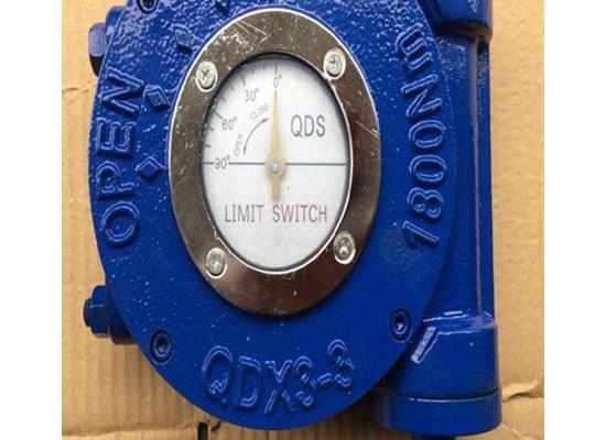 禹阀QDX3-3阀门蜗轮箱,输出力矩1800蝶阀蜗轮箱