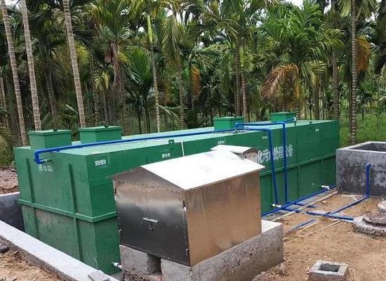 一体化污水处理天天膜日日插在新楼盘中的应用