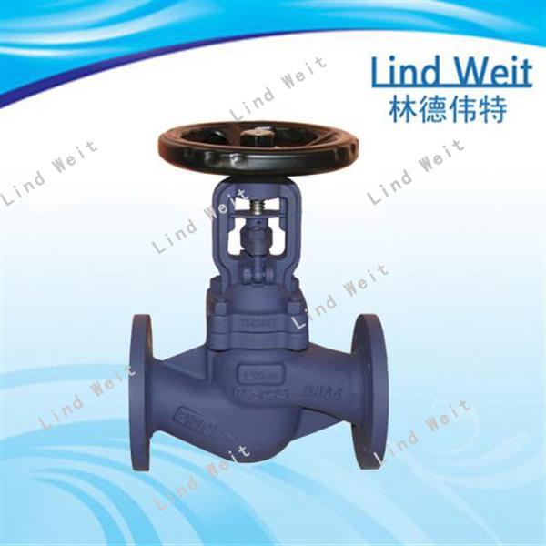 林德伟特LBSV优质一愣蒸汽波纹管截止阀