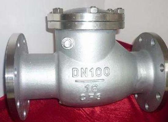 H44W-15P-DN100不锈钢旋启式止回阀