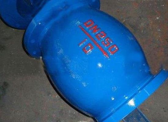 上海禹閥供應HQ45X-16-DN300微阻球形止回閥