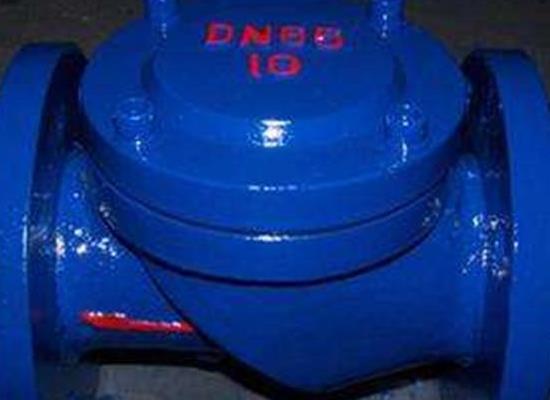 禹軒HC44X(SFCV)-10-dn200橡膠瓣止回閥