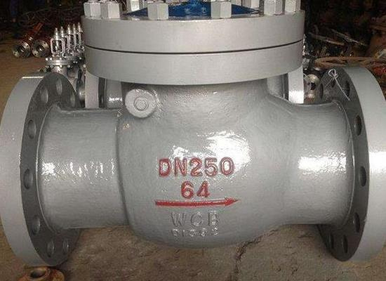 H44H-64C-DN150旋啟式止回閥 國標止回閥