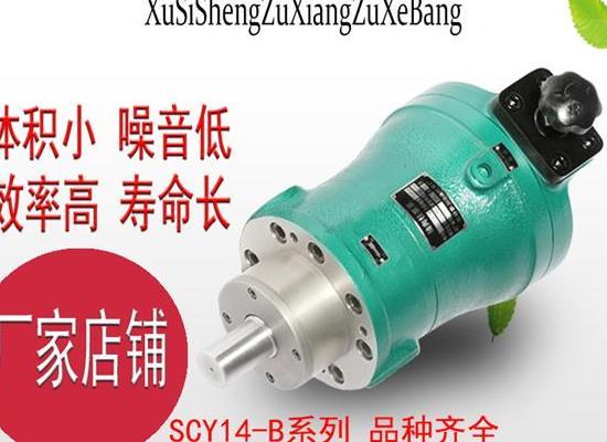 旭思盛 SCY14-1B 軸向柱塞泵 高壓油泵 柱塞泵