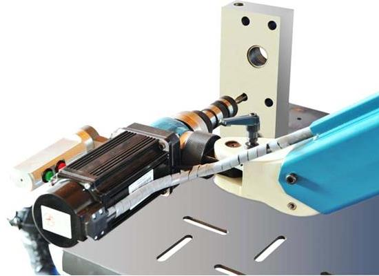 山东优科精流DII-R-M27型电动万向A型攻丝机