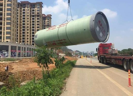 污水小管家-一體化預制泵站