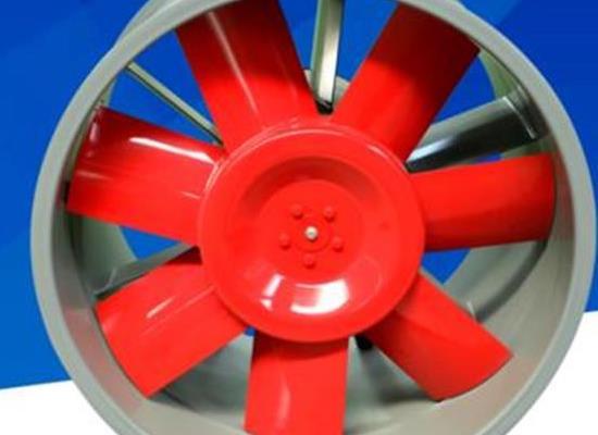 廠家直銷消防排煙風機地下車庫通風系統 HTF雙速軸流風機