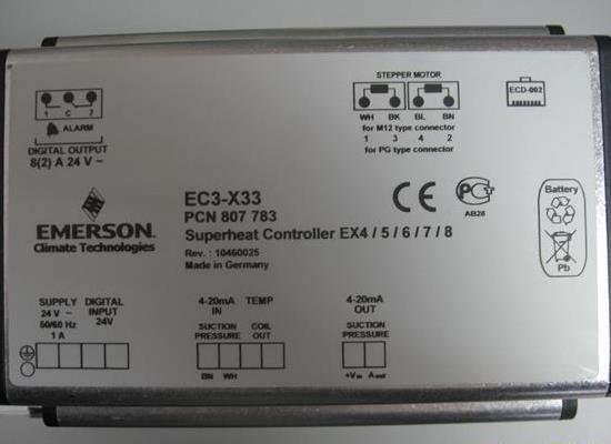 艾默生EC3-X33,PCN807783型電子膨脹閥驅動器