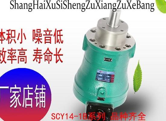 瑞彩祥云app旭思盛轴向柱塞泵 10SCY14-1B轴向柱塞泵 高压油