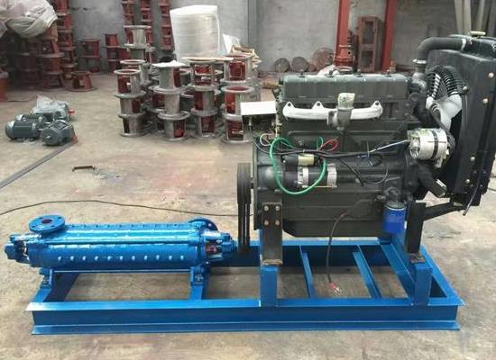 高揚程柴油機泵組