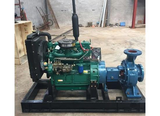 廠家供應固定式柴油機水泵