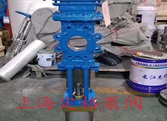 SCZ673H-10C 气动穿透式插板阀 刀闸阀