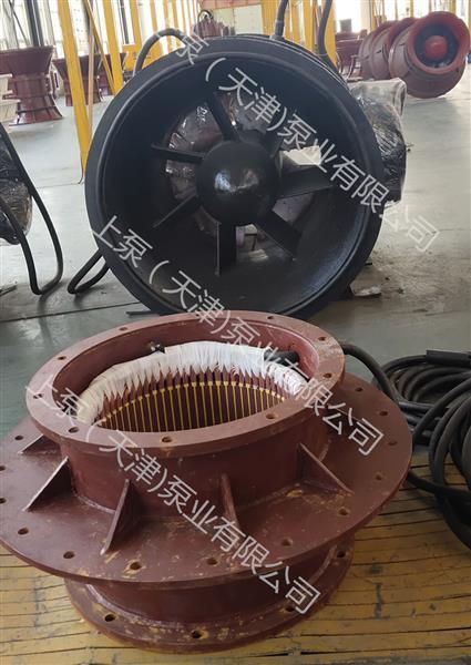 安徽合肥大流量排水泵S型叶轮贯流泵