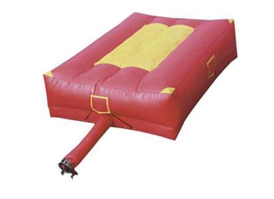 本田的發動鼓風機6*8米消防救生充氣墊 救援充氣墊 救援氣墊