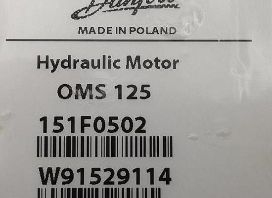 OMS125  151F0502/Danfoss/擺線馬達