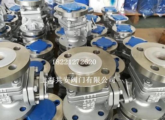 Q341F46/DN450mm蝸輪襯氟球閥