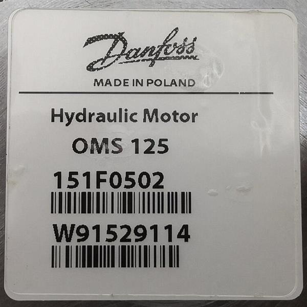 OMS125  151F0502/Danfoss/摆线马达
