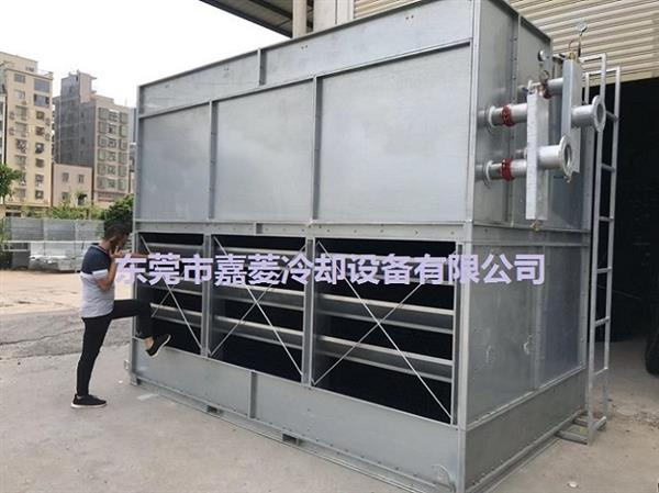 LXRT-500L/SB低噪音型500T横流式方形冷嗤却塔