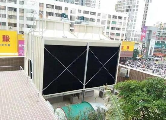 LXRT-500L/SB低噪音型500T橫流式方形冷卻塔
