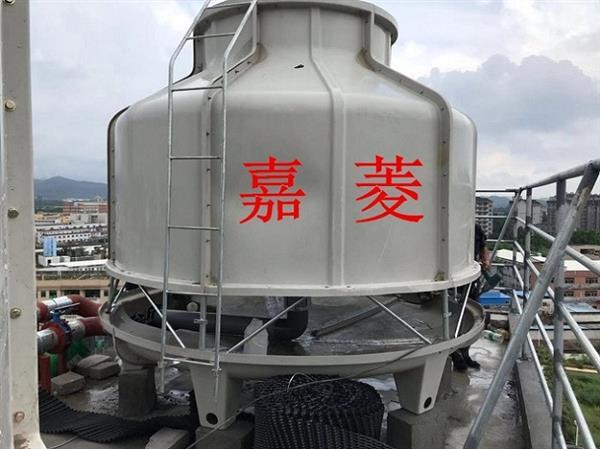 绵竹开式175T逆流圆爆形冷却塔